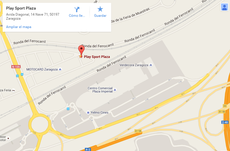 Mapa Play Sport Plaza